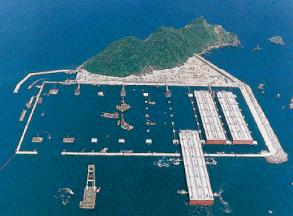 白島石油備蓄基地工事