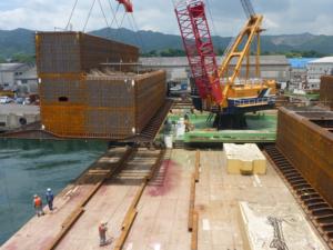 名瀬港改修(防災安全対策)工事